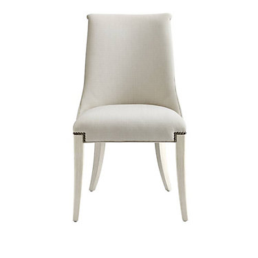 SYCLOWHC-WHITE: Customized Item of Coastal Living Oasis Wilshire Host Chair by Stanley Furniture (SYCLOWHC)