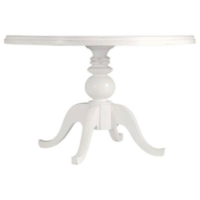 Picture of Coastal Living Retreat Round Pedestal Table with Painted Top by Stanley Furniture