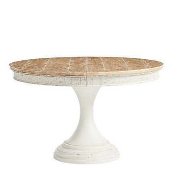 SYJDROUNDDT-CLAY: Customized Item of Juniper Dell Round Dining Table by Stanley (SYJDROUNDDT)