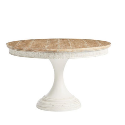 SYJDROUNDDT-WHITE: Customized Item of Juniper Dell Round Dining Table by Stanley (SYJDROUNDDT)