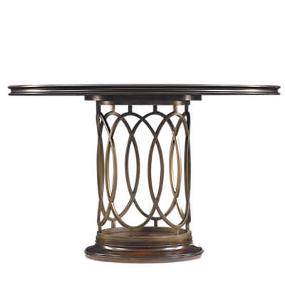 Picture of Neo Deco Pedestal Table by Stanley Furniture