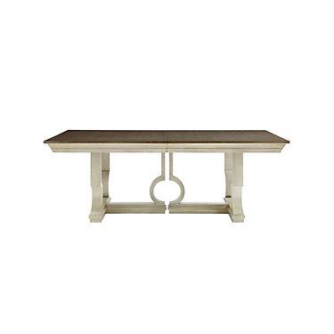 SYVLOMPDT-OYSTER: Customized Item of Coastal Living Oasis Moonrise Pedestal Dining Table by Stanley Furniture (SYVLOMPDT)