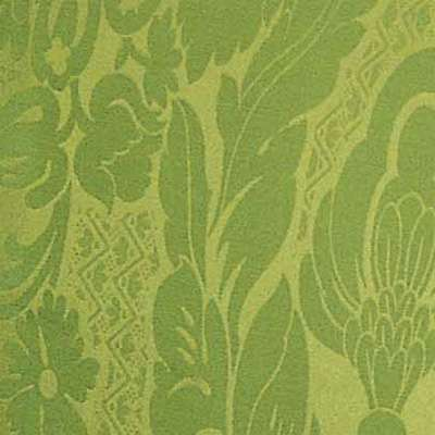 Green Damask Printed Fabric for Mademoiselle Printed Chair by Kartell (KTMMC)