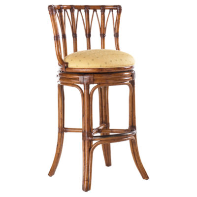 Picture of Island Estate South Beach Swivel Bar Stool by Tommy Bahama Home