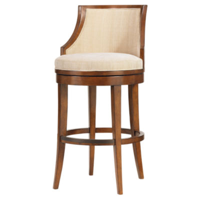 Picture of Ocean Club Cabana Swivel Bar Stool by Tommy Bahama Home
