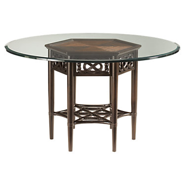 TBH01-0539-875-001-060GT: Customized Item of Royal Kahala Sugar And Lace Table by Tommy Bahama Home (TBH01-0539-875)