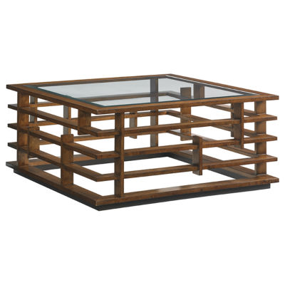 Picture of Island Fusion Nobu Square Cocktail Table by Tommy Bahama Home