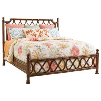Picture for Bali Hai Island Breeze Rattan Bed by Tommy Bahama Home