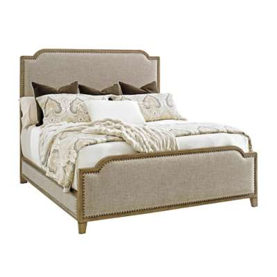 Picture for Cypress Point Stone Harbour Upholstered Bed by Tommy Bahama Home