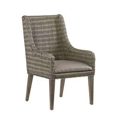 Picture for Cypress Point Brandon Woven Arm Chair by Tommy Bahama Home