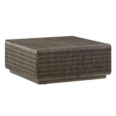 Picture for Cypress Point Seawatch Woven Cocktail Table by Tommy Bahama Home