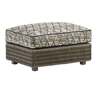 Picture of Cypress Point Hayes Ottoman by Tommy Bahama Home