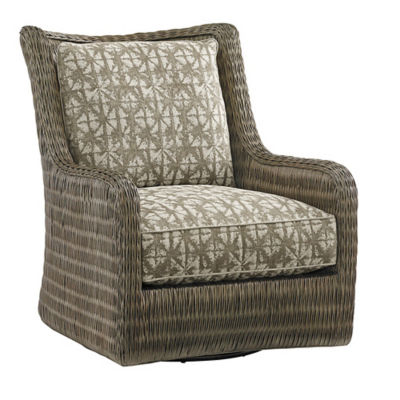 Picture of Cypress Point Estero Swivel Chair by Tommy Bahama Home