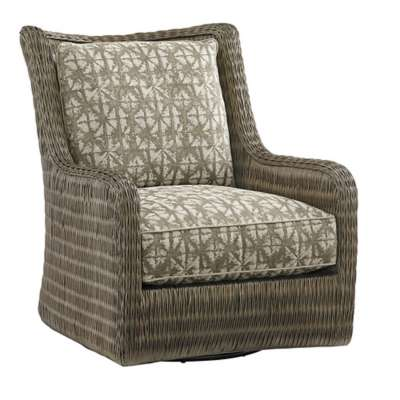 Picture for Cypress Point Estero Swivel Chair by Tommy Bahama Home