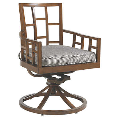 Picture of Ocean Club Resort Swivel Rocker Dining Chair by Tommy Bahama Outdoor