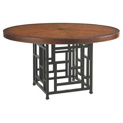 "Picture of Ocean Club Resort 54"" Dining Table by Tommy Bahama Outdoor"