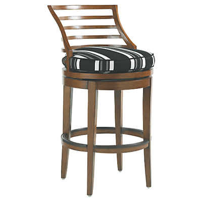 Picture of Ocean Club Pacifica Swivel Bar Stool by Tommy Bahama Outdoor