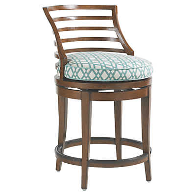 Picture of Ocean Club Pacifica Swivel Counter Stool by Tommy Bahama Outdoor