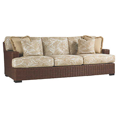 Picture of Ocean Club Pacifica Sofa with Boxed Edge Cushions by Tommy Bahama Outdoor