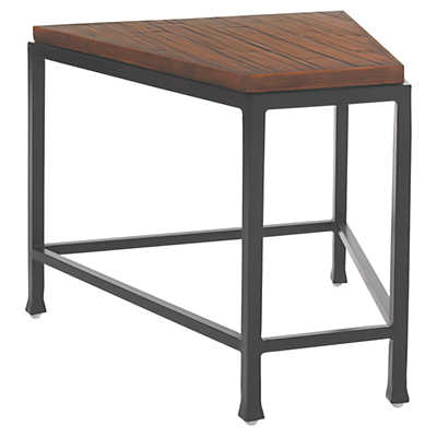 Picture of Ocean Club Pacifica Wedge Table with Weatherstone Top by Tommy Bahama Outdoor