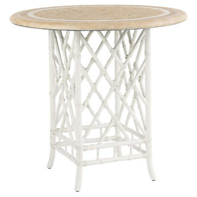 Picture of Island Estate Hamptons Bistro Table with Weatherstone Top