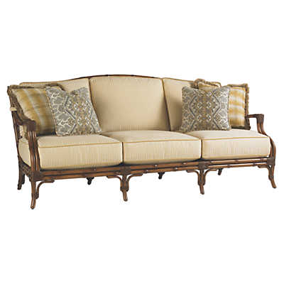 Picture of Island Estate Veranda Sofa with Boxed Edge Cushions by Tommy Bahama Outdoor