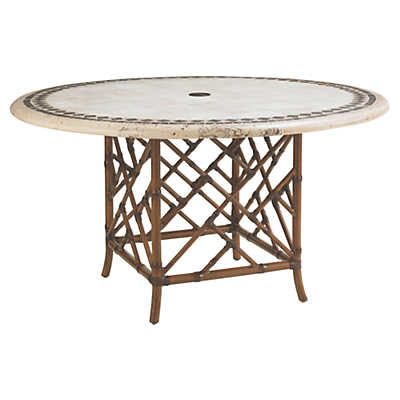 Picture of Island Estate Veranda 54 inch Dining Table by Tommy Bahama Outdoor