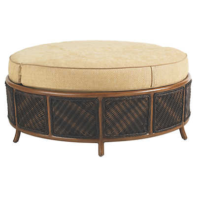 Picture of Island Estate Lanai Storage Ottoman by Tommy Bahama Outdoor