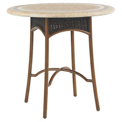 Picture of Island Estate Lanai Bistro Table with Weatherstone Top