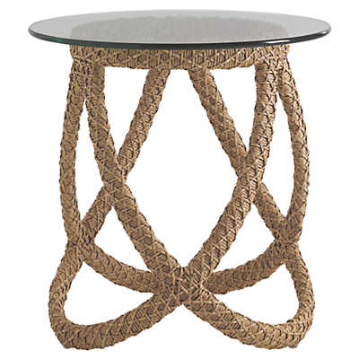 Picture of Aviano End Table with Glass Top by Tommy Bahama Outdoor