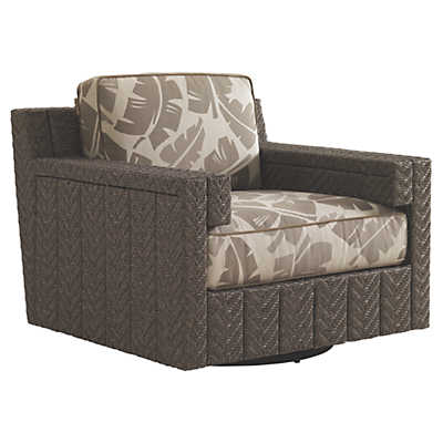 Picture of Blue Olive Swivel Glider Lounge Chair by Tommy Bahama Outdoor