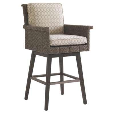 Picture for Blue Olive Swivel Bar Stool by Tommy Bahama Outdoor