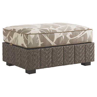 Picture of Blue Olive Ottoman by Tommy Bahama Outdoor