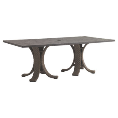 Picture of Blue Olive Rectangular Dining Table by Tommy Bahama Outdoor