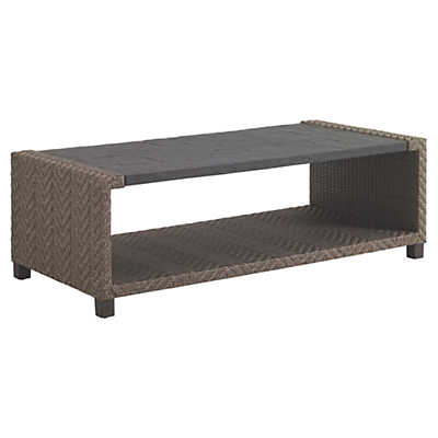 Picture of Blue Olive Rectangular Cocktail Table by Tommy Bahama Outdoor
