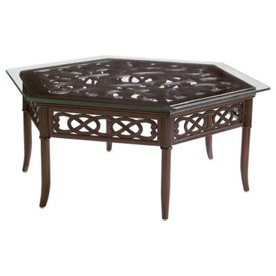 Picture for Black Sands Hexagonal Cocktail Table by Tommy Bahama Outdoor