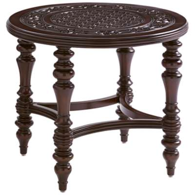 Picture for Black Sands Round End Table by Tommy Bahama Outdoor