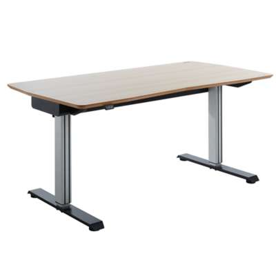 Picture for DWS - Dynamic Work Station E-desk in Oak/Black by TCT Nanotec