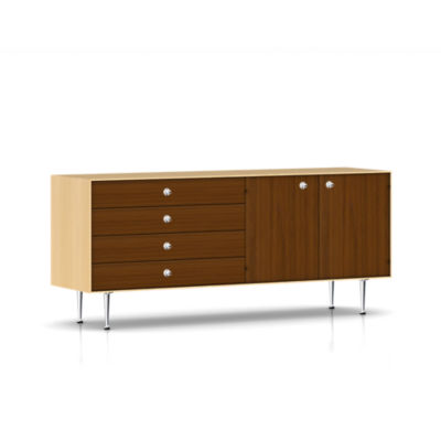 TE2167RHCURBCG: Customized Item of Nelson Thin Edge Buffet by Herman Miller (TE2167)
