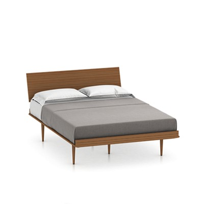 Nelson Thin Edge King Bed By Herman Miller Smart Furniture - Herman miller bedroom furniture