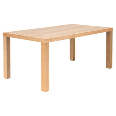 TEM077040-MULTI71V-OAK: Customized Item of Multi 180 Square Veneered Legs Table (TEM077040-MULTI71V)