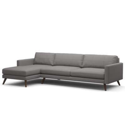 "Picture for Dane 116"" Sectional Sofa by TrueModern"
