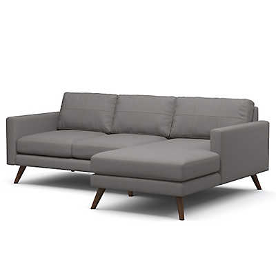 "Picture of Dane 90"" Sectional Sofa"