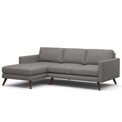 "Picture of Dane 90"" Sectional Sofa by TrueModern"