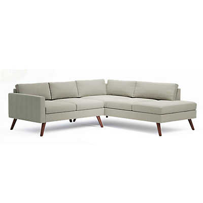 Picture of Dane Corner Sectional Sofa by TrueModern