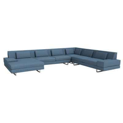 Picture of Hamlin Sectional with Chaise by TrueModern