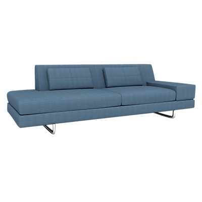 Picture of Hamlin 1-Arm Sofa with Chaise by TrueModern