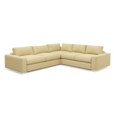 "Picture of Jackson 114"" Corner Sectional by TrueModern"