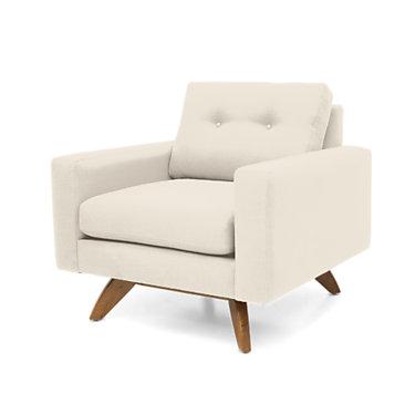 TMLUNACHAIR-MOUSE-WALNUT: Customized Item of Luna Chair by TrueModern (TMLUNACHAIR)