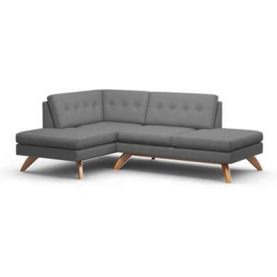 Picture for Luna Double Bumper Loft Sofa by TrueModern